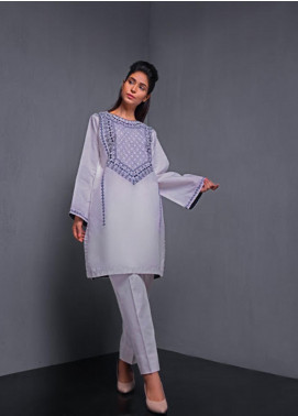 Kuli Jume Embroidered Irish Cotton Stitched Kurtis Tribal Dahlia