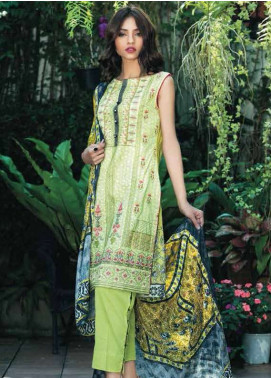 Kalyan By ZS Embroidered Lawn Unstitched 3 Piece Suit KY18L 6B - Spring / Summer Collection