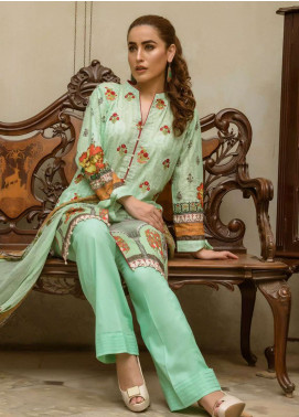 Kalyan By ZS Embroidered Lawn Unstitched 3 Piece Suit KYE18L 1A - Mid Summer Collection