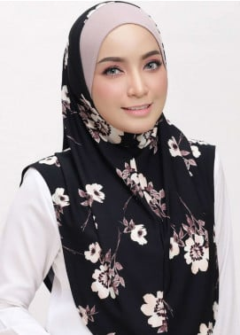 Chenta Qaseh  Lycra  Scarves HH Chenta ADR 15 Black