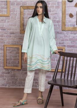 Lakhany Embroidered Cambric Stitched Kurtis LSM20EK LSM-1771