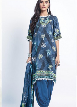Lakhany Embroidered Cottel Unstitched 3 Piece Suit LSM20W WCC 2063 - Winter Collection