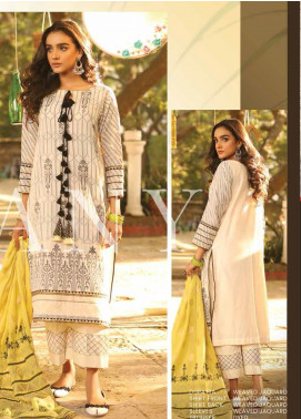Lakhany Embroidered Jacquard Unstitched 3 Piece Suit LSM20H 21 - Spring / Summer Collection