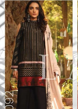 Lakhany Embroidered Jacquard Unstitched 3 Piece Suit LSM20H 27 - Spring / Summer Collection