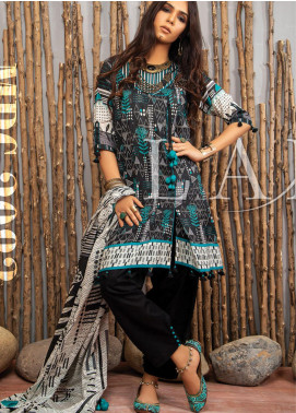 Komal Prints by Lakhany Printed Lawn Unstitched 3 Piece Suit LSM20KP 2083 - Summer Collection
