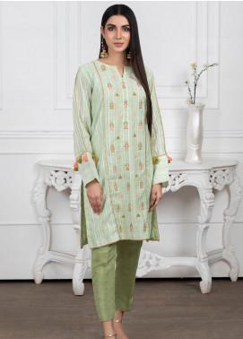 Lakhany Embroidered Cotton Stitched Kurtis LSM20PL LSM-2018