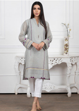 Lakhany Embroidered Banarsi Stitched Kurtis LSM20PL LSM-2023