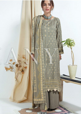 Cashmere Gold by Lakhany Printed Cashmere Wool Unstitched 3 Piece Suit LSM20CG 2078 - Winter Collection