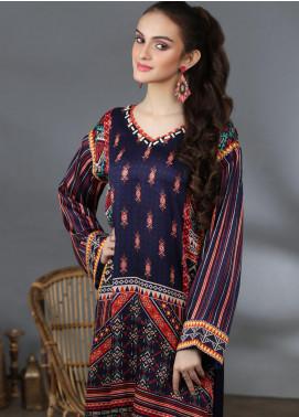 Lakhany Printed Silk Stitched Kurtis LSM21PS LSM-2057