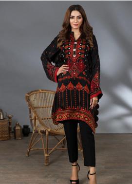 Lakhany Printed Silk Stitched Kurtis LSM21PS LSM-2059
