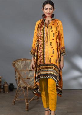 Lakhany Printed Silk Stitched Kurtis LSM21PS LSM-2060