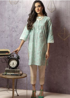 Lakhany Screen Printed Cambric Stitched Kurtis LSM20SP LSM-1760