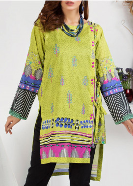 Lakhany Embroidered Lawn Unstitched Kurties LSM20PE 2044 - Summer Collection