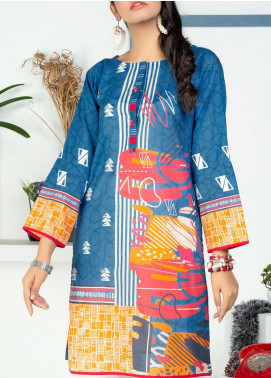 Lakhany Embroidered Lawn Unstitched Kurties LSM20PE 2046 - Summer Collection