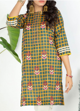 Lakhany Embroidered Lawn Unstitched Kurties LSM20PE 2049 - Summer Collection