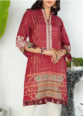 Lakhany Embroidered Lawn Unstitched Kurties LSM20PE 2051 - Summer Collection