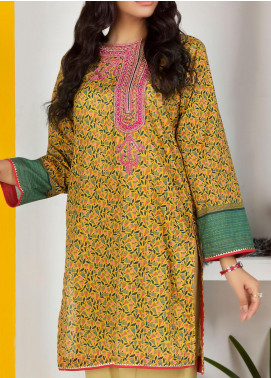 Lakhany Embroidered Lawn Unstitched Kurties LSM20PE 2053 - Summer Collection