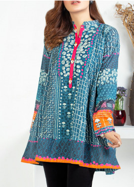 Lakhany Printed Lawn Unstitched Kurties LSM20PE 2055 - Summer Collection