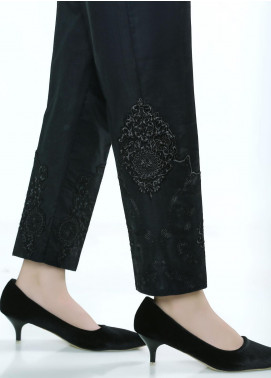 Lakhany Embroidered Cambric Stitched Trousers LSM20ET LSM-61