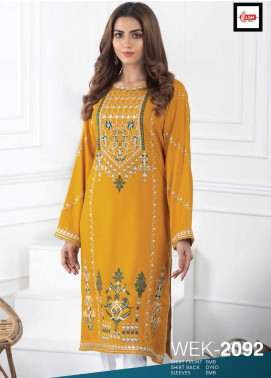 Lakhany Embroidered Viscose Unstitched Kurties LSM20WK 2092 - Winter Collection