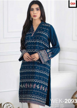 Lakhany Embroidered Viscose Unstitched Kurties LSM20WK 2093 - Winter Collection