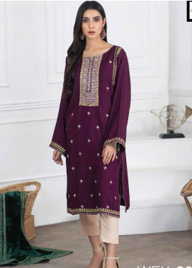 Lakhany Embroidered Viscose Unstitched Kurties LSM20WK 2097 - Winter Collection