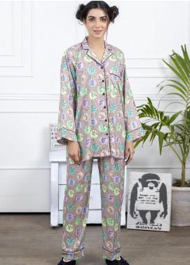 Cool Max Women 2 Piece Nightwear LSM21NW LSM-2049