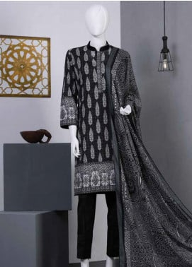 Lamha by Tarzz Printed Lawn Unstitched 2 Piece Suit TZ20BW L20-BW2-01 - Spring / Summer Collection