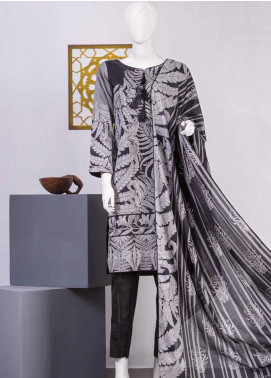 Lamha by Tarzz Printed Lawn Unstitched 2 Piece Suit TZ20BW L20-BW2-02 - Spring / Summer Collection