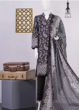 Lamha by Tarzz Printed Lawn Unstitched 2 Piece Suit TZ20BW L20-BW2-03 - Spring / Summer Collection