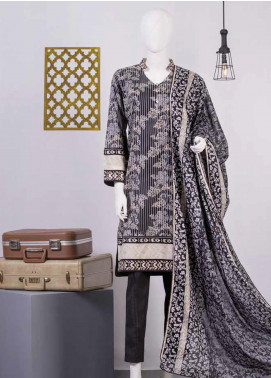 Lamha by Tarzz Printed Lawn Unstitched 2 Piece Suit TZ20BW L20-BW2-04 - Spring / Summer Collection