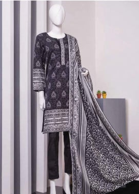Lamha by Tarzz Printed Lawn Unstitched 2 Piece Suit TZ20BW L20-BW2-06 - Spring / Summer Collection