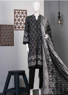 Lamha by Tarzz Printed Lawn Unstitched 3 Piece Suit TZ20BW L20-BW3-01 - Spring / Summer Collection