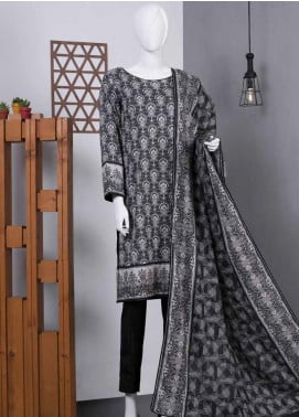 Lamha by Tarzz Printed Lawn Unstitched 3 Piece Suit TZ20BW L20-BW3-03 - Spring / Summer Collection