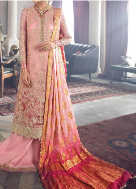 Lere Du Luxe by Republic WomensWear Embroidered Zari Net Unstitched 3 Piece Suit RW20LL LU-04 - Luxury Collection