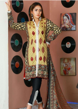 Libas by Shariq Textiles Embroidered Lawn Unstitched 3 Piece Suit LB19-L2 2B - Spring / Summer Collection