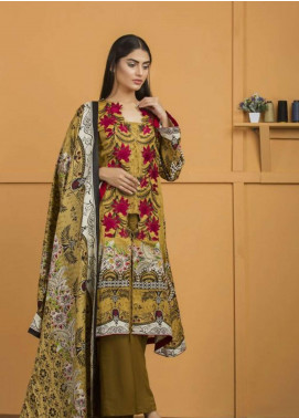 Libas by Shariq Textiles Embroidered Lawn Unstitched 3 Piece Suit LB19-L2 4A - Spring / Summer Collection