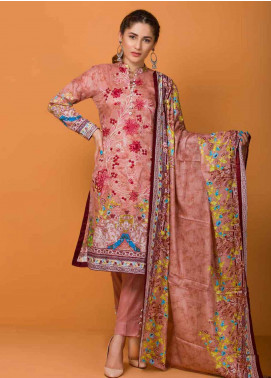 Libas by Shariq Textiles Embroidered Lawn Unstitched 3 Piece Suit LB19-L3 01A - Mid Summer Collection