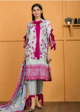 Libas by Shariq Textiles Embroidered Lawn Unstitched 3 Piece Suit LB19-L3 02B - Mid Summer Collection