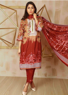 Libas by Shariq Textiles Embroidered Lawn Unstitched 3 Piece Suit LB19-L3 03B - Mid Summer Collection