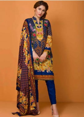 Libas by Shariq Textiles Embroidered Lawn Unstitched 3 Piece Suit LB19-L3 05A - Mid Summer Collection