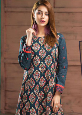 LimeLight Printed Lawn Unstitched Kurties LL19L U0731 Blue Bloomin Dales - Spring / Summer Collection