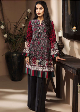 LimeLight Printed Cotton Unstitched Kurties LL18-W3 377 Green - Winter Collection