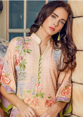 Maryum N Maria Embroidered Swiss Voile Unstitched 3 Piece Suit LMM18S 05 - Spring / Summer Collection