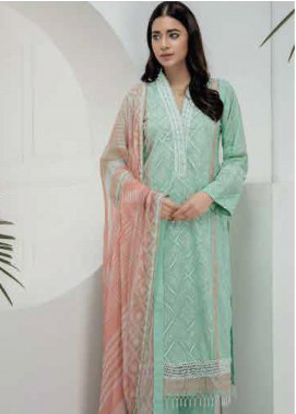 Lakhany Embroidered Chikankari Unstitched 3 Piece Suit LSM19CK 7003 - Mid Summer Collection