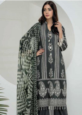 Lakhany Embroidered Chikankari Unstitched 3 Piece Suit LSM19CK 7005 - Mid Summer Collection