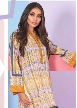 Lakhany Embroidered Lawn Unstitched Kurties LSM19K KK-4010 - Spring / Summer Collection