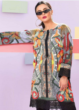Lakhany Embroidered Lawn Unstitched Kurties LSM19K KK-4050 - Spring / Summer Collection