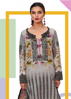 Lakhany Embroidered Lawn Unstitched Kurties LSM19K KK-4060 - Spring / Summer Collection