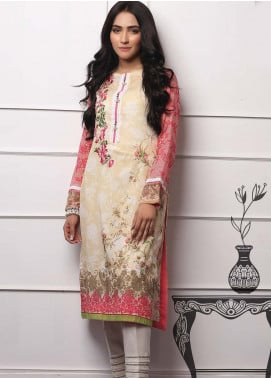 Lakhany Embroidered Lawn Unstitched Kurties LSM19EKT 1002 - Mid Summer Collection